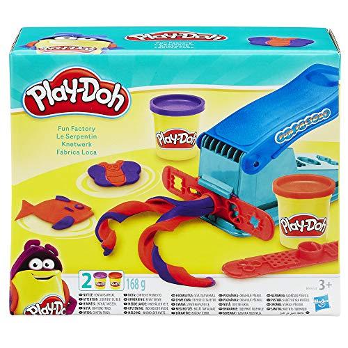Play-Doh - Fabbrica Base per Modellare, Macchina Divertente con 2 Colori Play-Doh Non tossici - 1