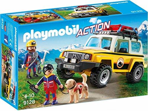 Playmobil 9128 - Jeep Soccorso Alpino - 1
