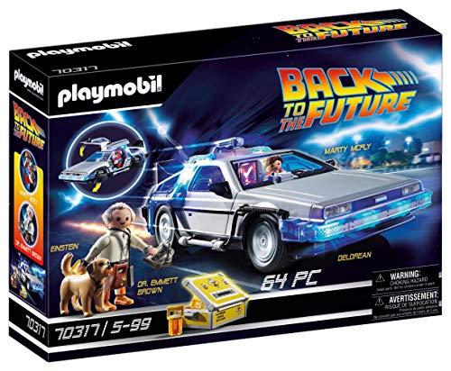 Playmobil Back to the Future 70317 - DeLorean con Effetti Luminosi, dai 6 anni - 1