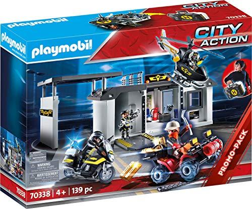 Playmobil City Action 70338 - Centrale dell'Unità Speciale Portatile, dai 4 anni - 1