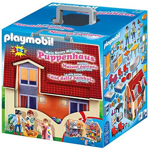 Playmobil Dollhouse 5167 - Casa delle Bambole Portatile, dai 4 anni - 1