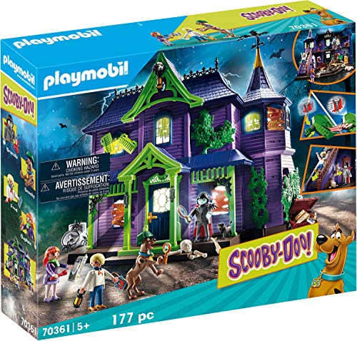 Playmobil Scooby-Doo 70361 - La Casa del Mistero - 1