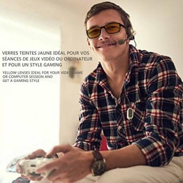SFL + Optics. - Occhiali gaming - occhiali anti luce blu - occhiali computer - occhiali gamer - occhiali filtro luce blu - occhiali videogiochi - occhiali pc - occhiali videogame - 2