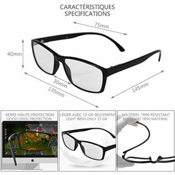 SFL + Optics. - Occhiali gaming - occhiali anti luce blu - occhiali computer - occhiali gamer - occhiali filtro luce blu - occhiali videogiochi - occhiali pc - occhiali videogame - 6