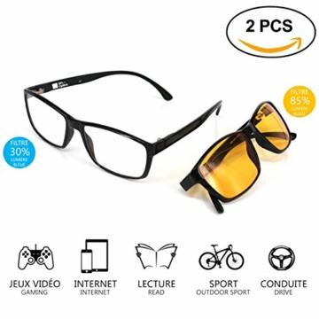 SFL + Optics. - Occhiali gaming - occhiali anti luce blu - occhiali computer - occhiali gamer - occhiali filtro luce blu - occhiali videogiochi - occhiali pc - occhiali videogame - 8