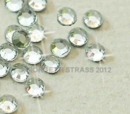 STRASS Termoadesivi Prima Qualità Koreana 15000pz SS16 4mm Cristallo trasparente