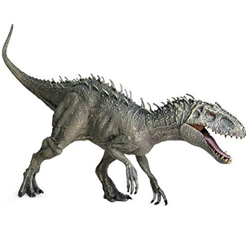 Sttoce Jurassic Indominus Rex Toy, Plastica Jurassic World Indominus Rex Dinosaur Party e Collezionisti Articolo 34cm Animali Modello Giocattolo per Bambini Regalo - 1