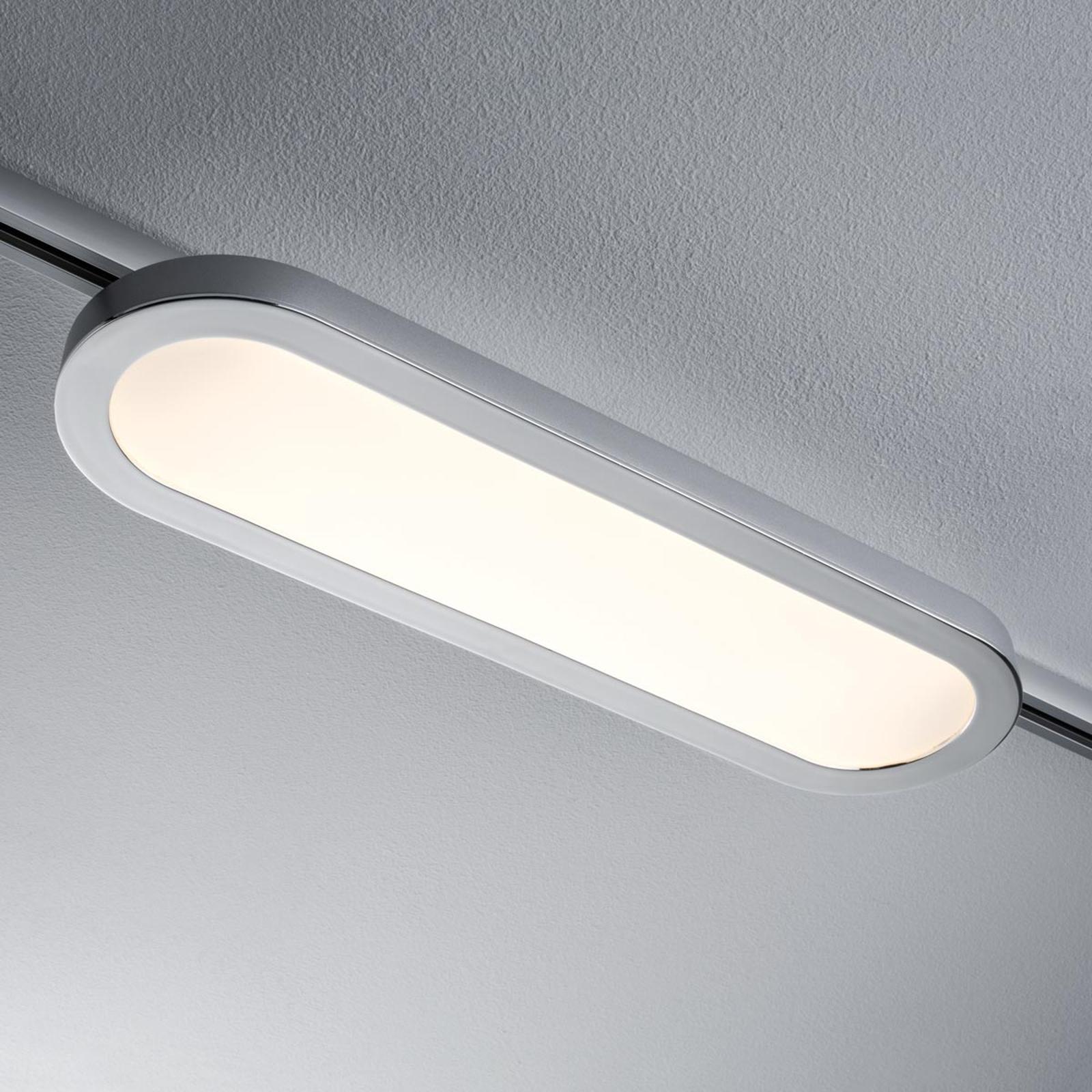 URail spot LED 3,5 W GZ10 cromo satinato Illuminazione per interni