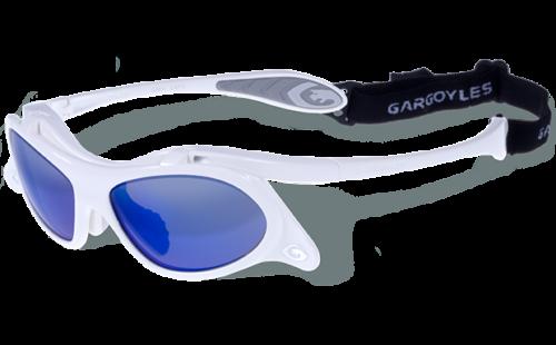 Gargoyles Occhiali Gamer Bianco Blu Specchio 10700067.QTM Baseball Campo SPORTS
