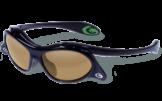 Gargoyles Occhiali Gamer Nero Fumo Oro Specchio Polar 10700081.QTM Baseball