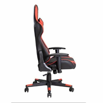 Guotail Gaming Sedia da Ufficio, Corse Design, Cuoio scrivania Sedia Regolabile dell'ufficio di Gioco di Corsa Presidenza Lombare e la Testa del Cuscino della Sedia - 7