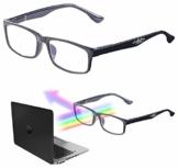 infactory Occhiali da schermo: Occhiali per schermi luminosi con filtro per la luce blu, 1,5 diottrie (A misura d'occhio Occhiali da schermo) - 1