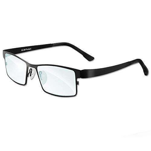 KLIM Protect - Occhiali di Nuova Generazione - Proteggi i Tuoi Occhi dagli Effetti nocivi della Luce Blu degli schermi - 1