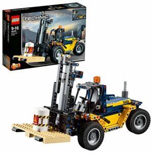 LEGO- Technic Carrello elevatore Heavy Duty, Multicolore, 42079 - 1