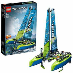 LEGO Technic Catamarano e Barca a Vela 2 in 1, Giocattolo Galleggiante, 42105 - 1