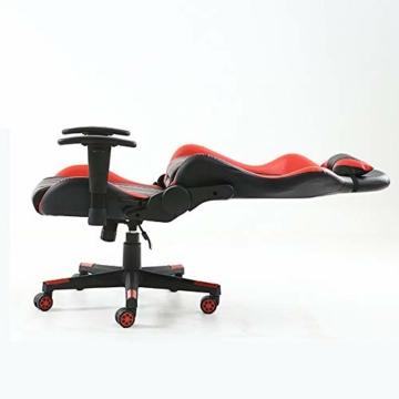 Pc Gaming Sedia ergonomica Gaming Chair Corsa Sedia da Ufficio Stile con con Il più Grande ad Alta dello Schienale e bracciolo Cuscino ingrandita - 4
