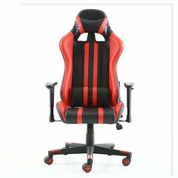 Pc Gaming Sedia ergonomica Gaming Chair Corsa Sedia da Ufficio Stile con con Il più Grande ad Alta dello Schienale e bracciolo Cuscino ingrandita - 1