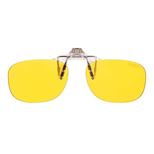 PRiSMA CLiP-ON EASY90 Bluelightprotect – Cuffia per occhiali – Gaming, e-Sport, TV e lavoro di giorno senza mal di testa – CP702 - 1