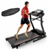Sportstech F26- Tapis roulant professionale con controllo del battito cardiaco da app smartphone,connessione Bluetooth MP3/AUX, motore 4HP, 16km/h, per allenamento con cardiofrequenzimetro, compatto, pieghevole e salvaspazio, Sportstech F26 mit Pulsgurt, Sportstech F26 mit Pulsgurt - 1