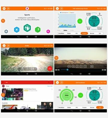 Sportstech F48 Tapis roulant Professionale da 10,1 Pollici con Android WiFi 7,75 CV 20 kmh con Supporto Tablet - Cingha Cardio Inclusivo - Pieghevole - 5