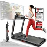 Sportstech Tapis Roulant Ultra Sottile FX300 -Marchio di qualità Tedesco- con Eventi Video e Multiplayer App, Superficie di Corsa Gigante e Senza Montaggio, Fino a 16 km/h - 1
