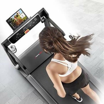 Sportstech Tapis Roulant Ultra Sottile FX300 -Marchio di qualità Tedesco- con Eventi Video e Multiplayer App, Superficie di Corsa Gigante e Senza Montaggio, Fino a 16 km/h - 9