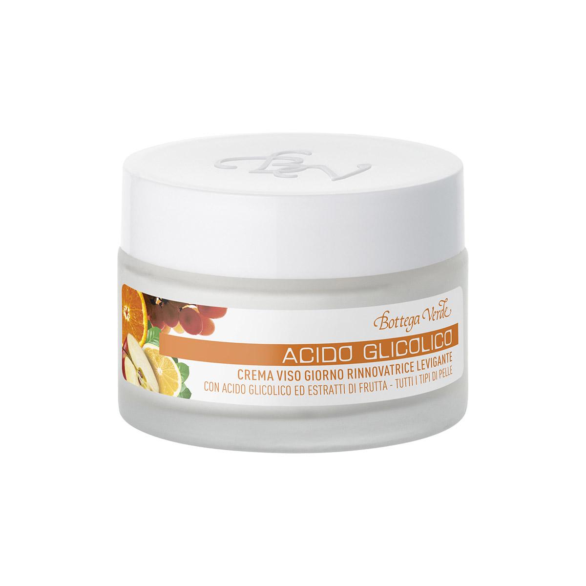 Acido Glicolico - Crema viso giorno rinnovatrice levigante