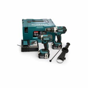 Makita 18V 2X 5AH LI-ION Hammer Drill/Impact Driver Kit, 1pezzi, dlx2145tj Offerte e sconti