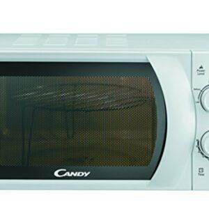 CANDY CMG 2071 M – Microonde con grill 20L, 45,2 x 26,2 x 33,5 cm, 700W, Potenza Grill: 900W, Bianco Offerte e sconti