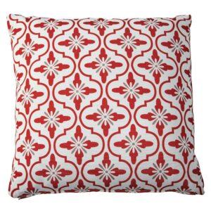 Cuscino da giardino in tessuto con motivi tricolore 45x45cm ADOUR Offerte e sconti