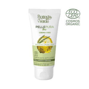 Pelle pura bio - Crema viso purificante anti lucidita