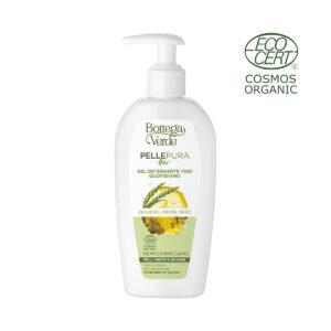 Pelle pura bio - Gel detergente viso quotidiano