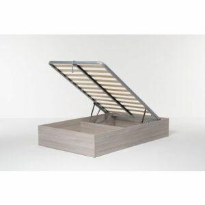Letto Contenitore Cangu' Bed Box Singolo Grande 120X190 Olmo Naturale Offerte e sconti