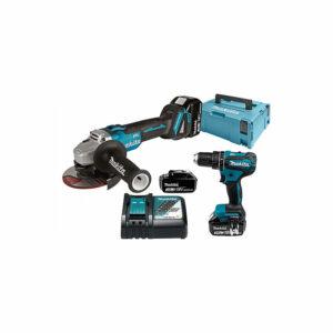 Dove acquistare Makita Kit combo batteria 18 V (DHP485Z + DGA504Z), caricabatterie rapido DC18RC – DLX2334J