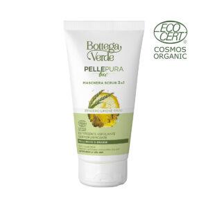 Pelle pura bio - Maschera scrub 3 in 1