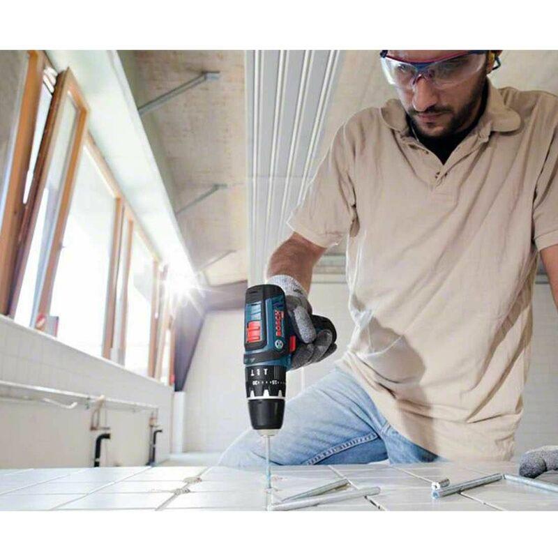 BOSCH Kit 12V B12GSRGKS2bat3a-40 (GSR 12V-15 + GKS 12V-26 + 2 x 3,0 Ah + GAL12V-40 + L-Boxx 136) Bricolage e utensili