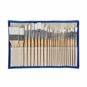 Dove acquistare CONDA Pennelli Professionali per Colori ad Olio e Acrilici Set di Pennelli Spazzola per Dipingere 24 Pz Confezione in Nylon