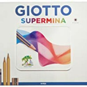 Giotto 237500 – Supermina Scatola di Metallo da 50 Pezzi Per la scuola