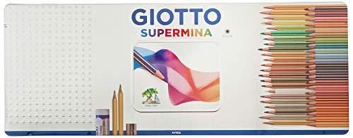 Giotto 237500 – Supermina Scatola di Metallo da 50 Pezzi
