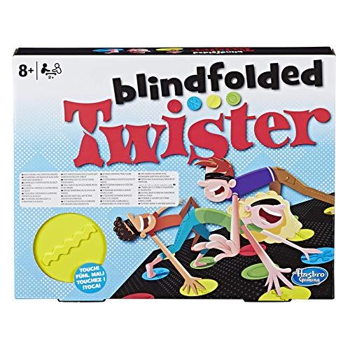Hasbro Gaming – Blindfolded Twister (Gioco in Scatola), E1888EU4 Giochi e giocattoli