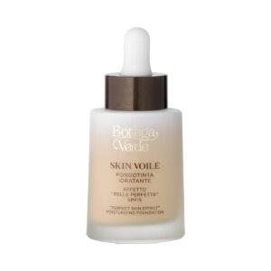 "Skin voile Fondotinta idratante """"effetto pelle perfetta"""" con Acido Ialuronico e AQUAPHYLINE , SPF15 (25 ml)-"