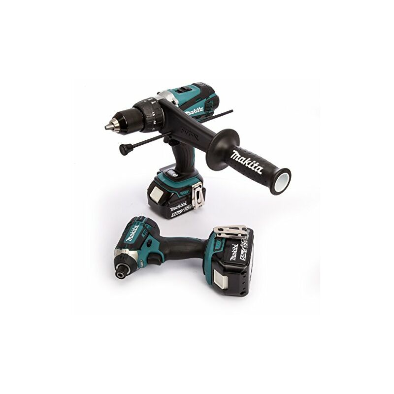 Dove acquistare Makita 18V 2X 5AH LI-ION Hammer Drill/Impact Driver Kit, 1pezzi, dlx2145tj