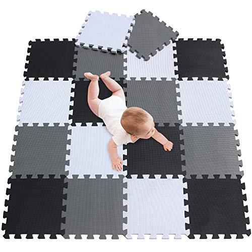 meiqicool -Tappetino Puzzle per Bambini in gommapiuma Eva, Tappetino da Gioco, Puzzle Tappeto, Puzzle per Bambini in gommapiuma,Dimensioni 142 x114 x 1cm 010412 Giochi e giocattoli