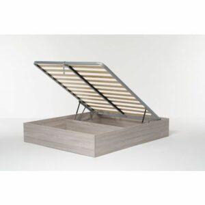Letto Contenitore Cangu' Bed Box Matrimoniale 160X190 Olmo Naturale Letti