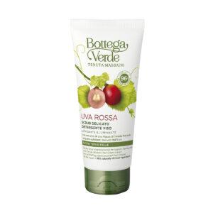 Uva Rossa - Scrub delicato detergente viso