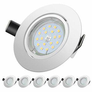 Dove acquistare Faretti LED da Incasso per cartongesso,5 W Equivalenti a 60 W, Naturale Bianco Freddo 4500K 600LM orientabili 120 Gradi…