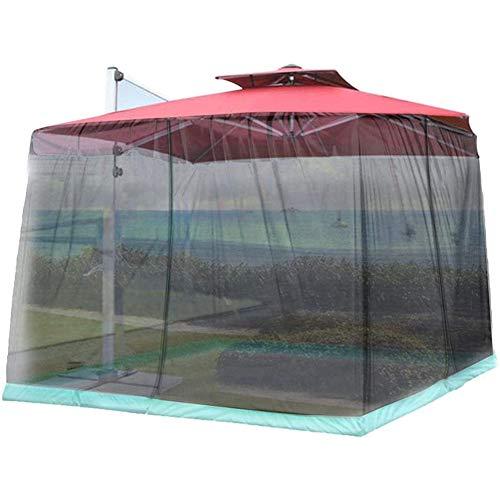 BCXGS Zanzariera per ombrellone da Giardino, ombrellone da Giardino Esterno Schermo Parasole zanzariera per zanzariera… Casa e giardino