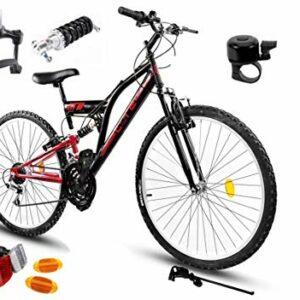 Dove acquistare BDW Mountain bike Goetze CORE 24 pollici, sospensione completa a 18 marce, per bambini, per bambini da 120 a 155 cm…