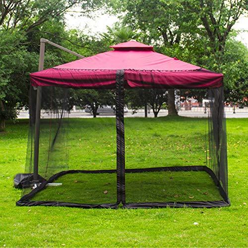BIUYYY Rete per ombrellone da Giardino con zanzariera Copertura a Rete con Cerniera per Patio e Tavolo da Giardino 300 x… Casa e giardino