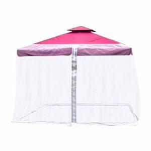 Dove acquistare 2021 Nuovo parasole Zanzariera Ombrellone Il tuo ombrellone in un gazebo Zanzariera Parasole da esterno Prato da…